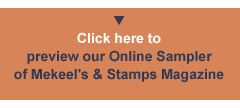 Click here - Preview our Online Sampler of Mekeel's & Stamps Magazine